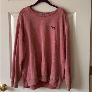 Pink (Victoria's Secret) Lightweight Sweatshirt